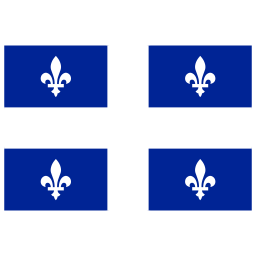 CA QC Quebec Flag icon