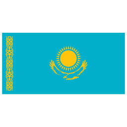 KZ Kazakhstan Flag icon