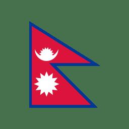 NP Nepal Flag icon