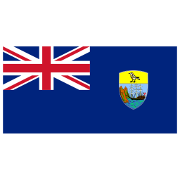 SH Saint Helena Flag icon