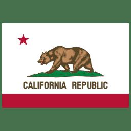US CA California Flag icon