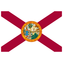 US FL Florida Flag icon