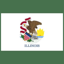 US IL Illinois Flag icon
