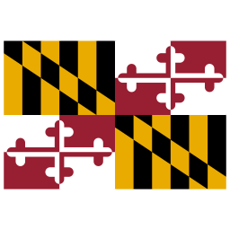 US MD Maryland Flag icon