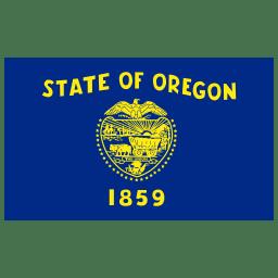 US OR Oregon Flag icon