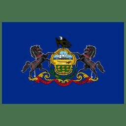US PA Pennsylvania Flag icon
