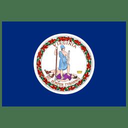 US VA Virginia Flag icon