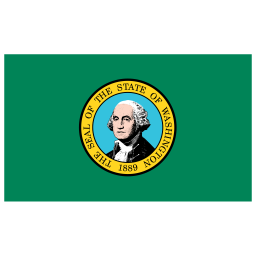 US WA Washington Flag icon