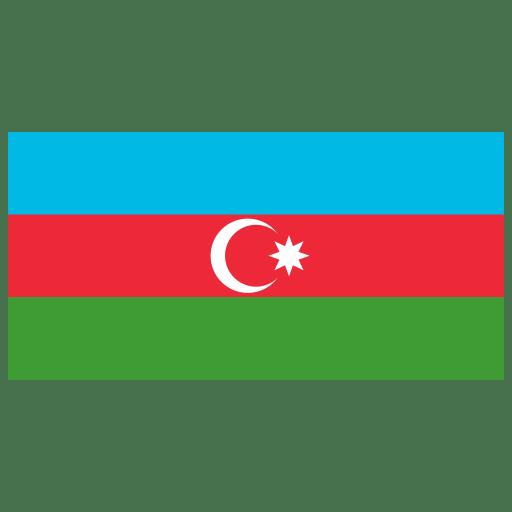 AZ-Azerbaijan-Flag icon