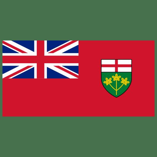 CA-ON-Ontario-Flag icon