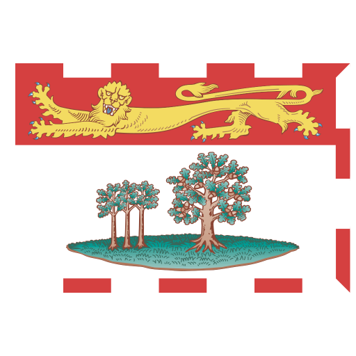 CA-PE-Prince-Edward-Island-Flag icon