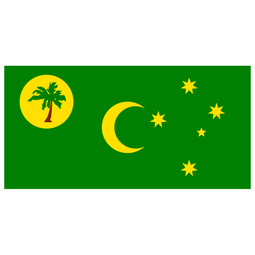 CC-Cocos-Keeling-Islands-Flag icon
