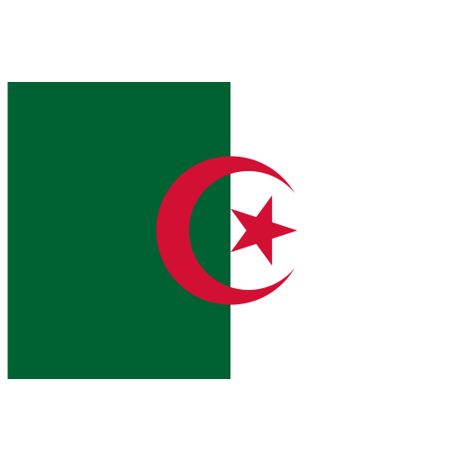 DZ Algeria Flag icon