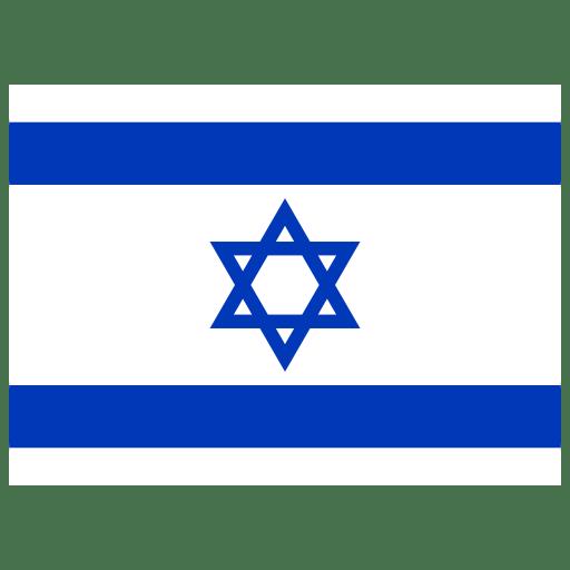 IL Israel Flag icon