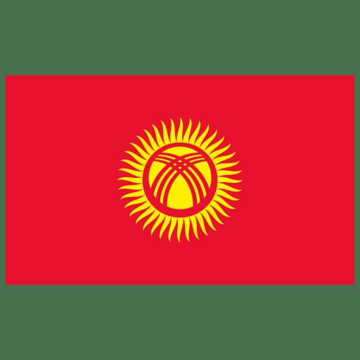 KG-Kyrgyzstan-Flag icon
