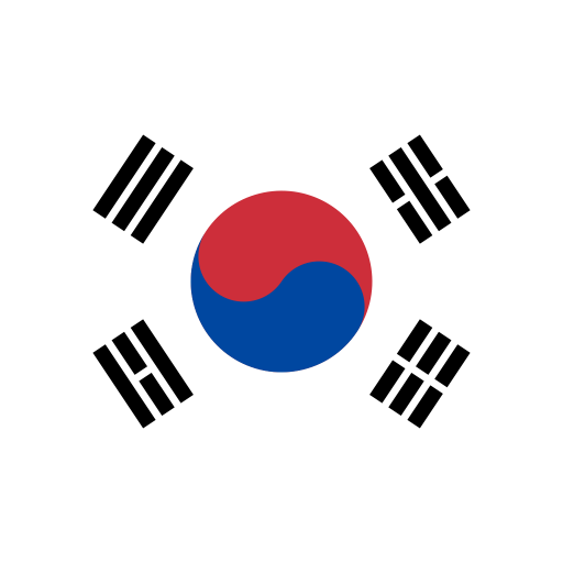 KR-South-Korea-Flag icon