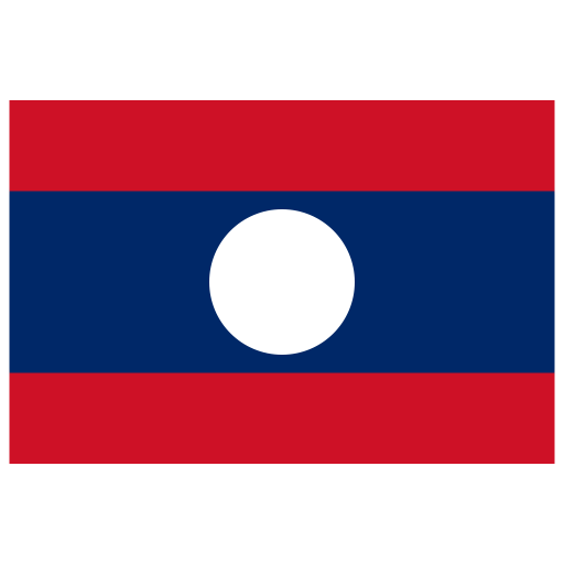 LA Laos Flag icon