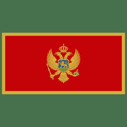 ME-Montenegro-Flag icon