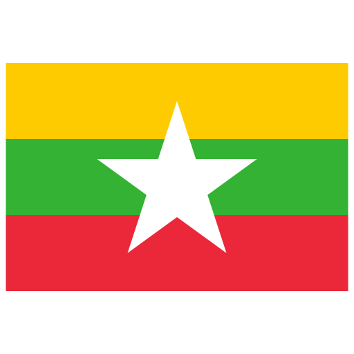 MM-Myanmar-Burma-Flag icon