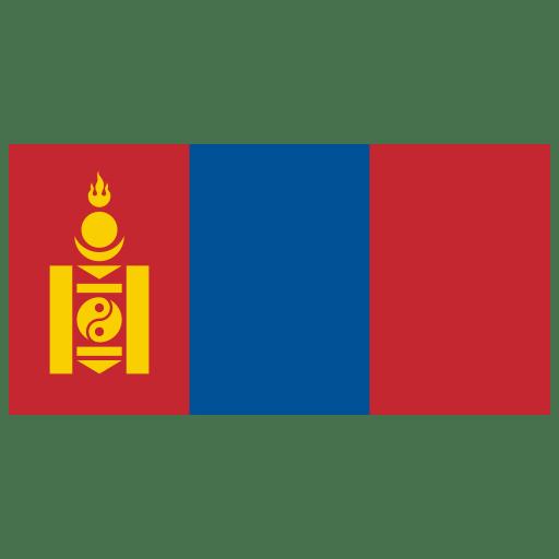 MN-Mongolia-Flag icon