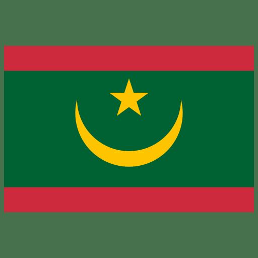 MR Mauritania Flag icon