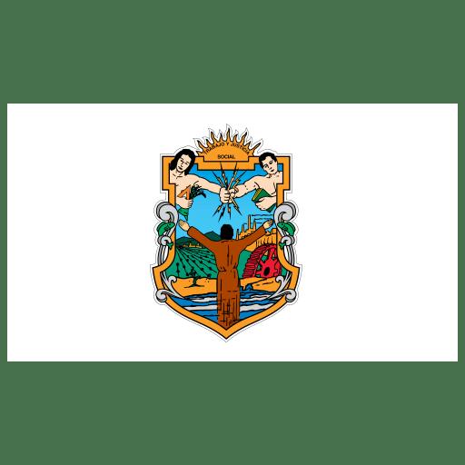 MX-BCN-Baja-California-Norte-Flag icon