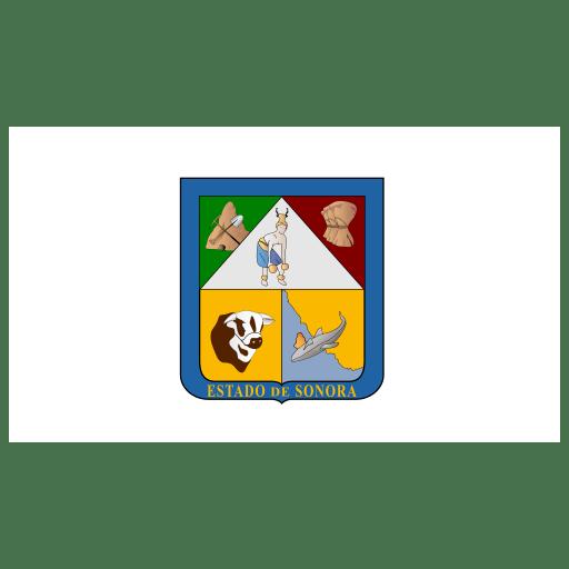 MX SON Sonora Flag icon