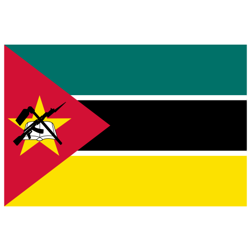 MZ Mozambique Flag icon