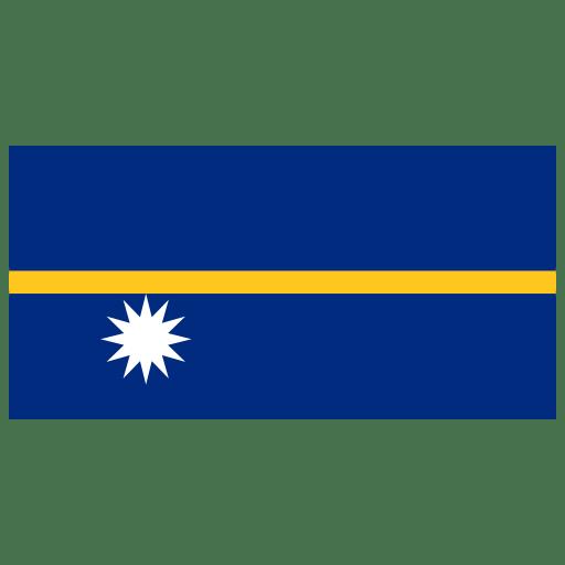 NR-Nauru-Flag icon