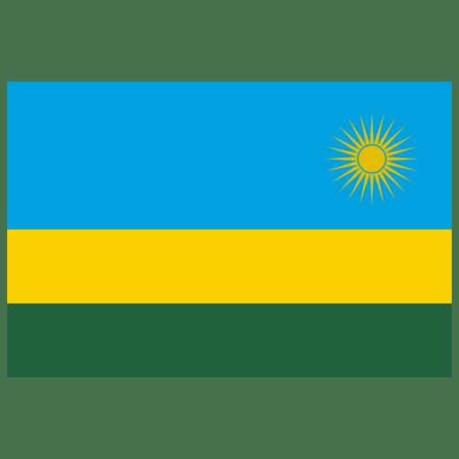 RW Rwanda Flag icon