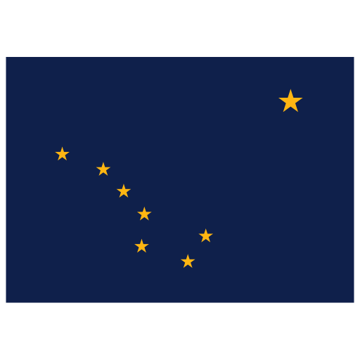 US-AK-Alaska-Flag icon