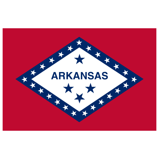 US AR Arkansas Flag icon