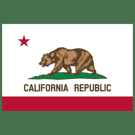 US-CA-California-Flag icon