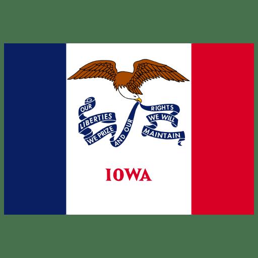 US-IA-Iowa-Flag icon
