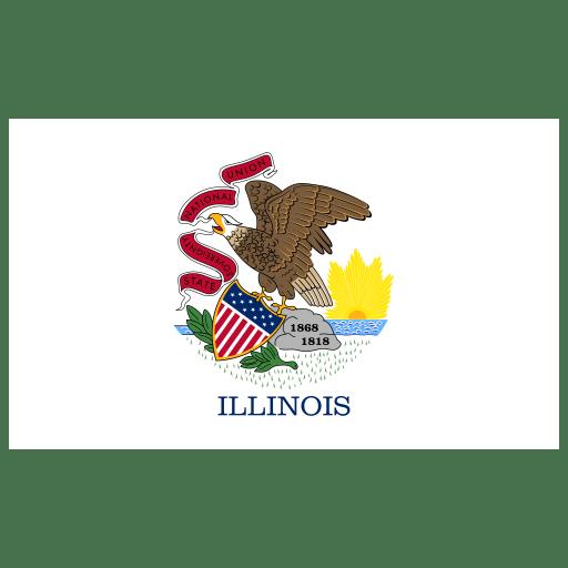 US-IL-Illinois-Flag icon