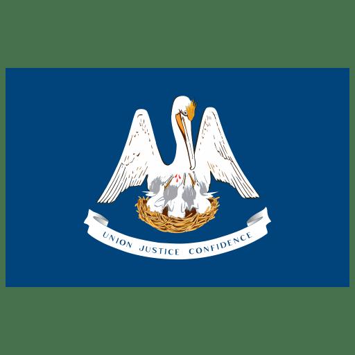US LA Louisiana Flag icon