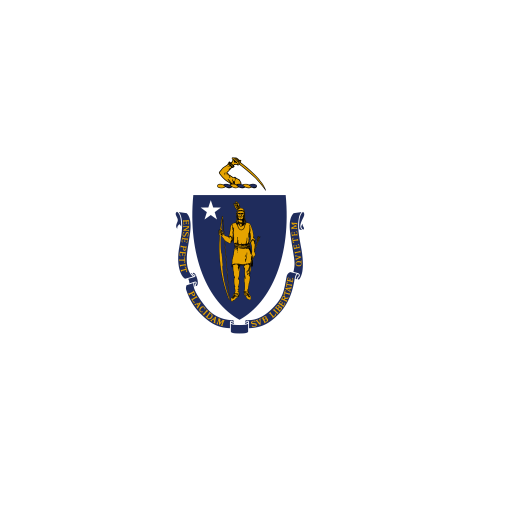 US-MA-Massachusetts-Flag icon