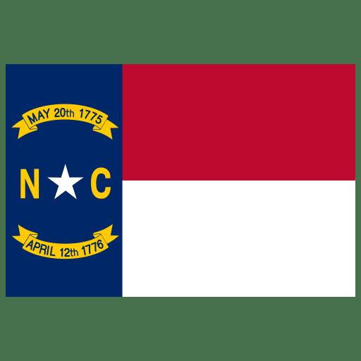 US-NC-North-Carolina-Flag icon
