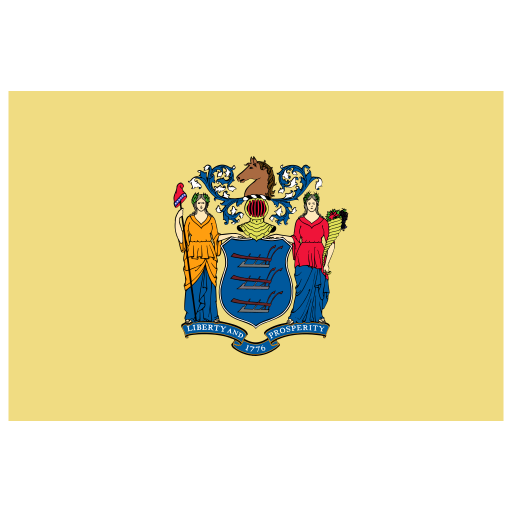 US NJ New Jersey Flag icon