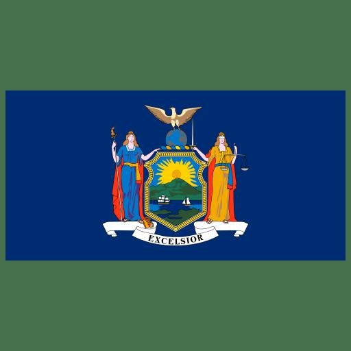US-NY-New-York-Flag icon