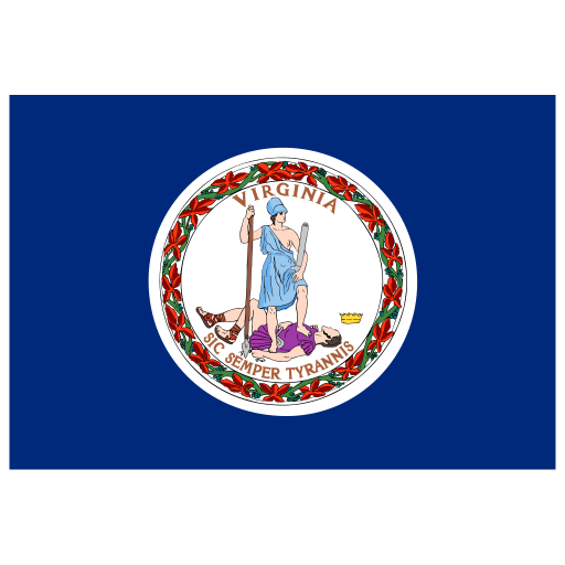 US-VA-Virginia-Flag icon