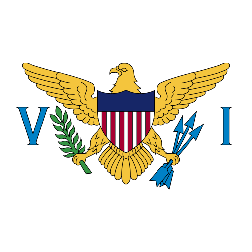VI U.S. Virgin Islands Flag icon
