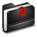 Bookmark-Black-Folder icon