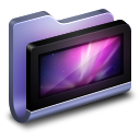 Desktop-Blue-Folder icon