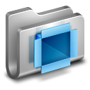 DropBox Metal Folder icon