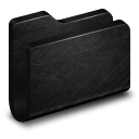 Folder Black Metal Folder icon