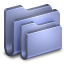 Folders Blue Folder icon