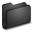 Generic Black Folder icon