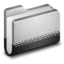 Llibrary Metal Folder icon