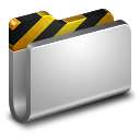 Projects Metal Folder icon